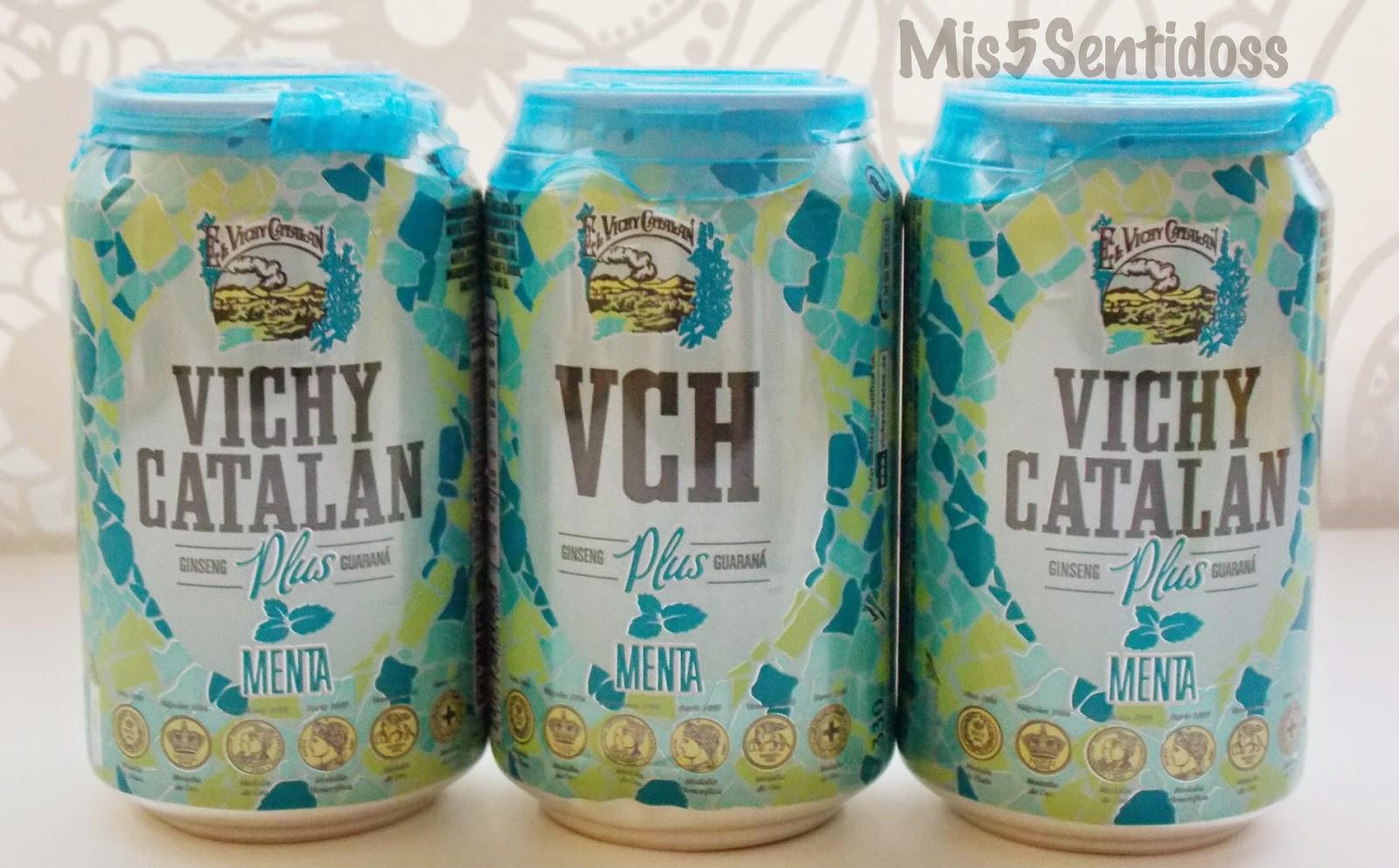 Degustabox agosto 2014 Vichy catalán menta