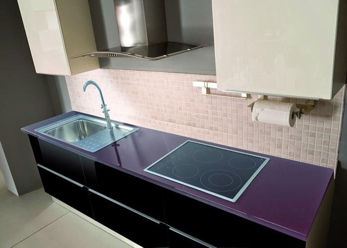 Muebles f y m ourense encimera de cocina - Encimeras de cristal ...