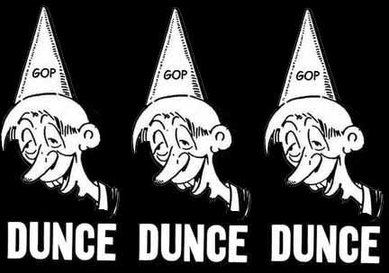 GOP dunce