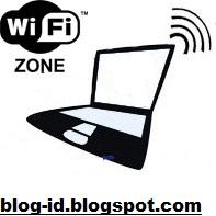cara laptop jadi wifi