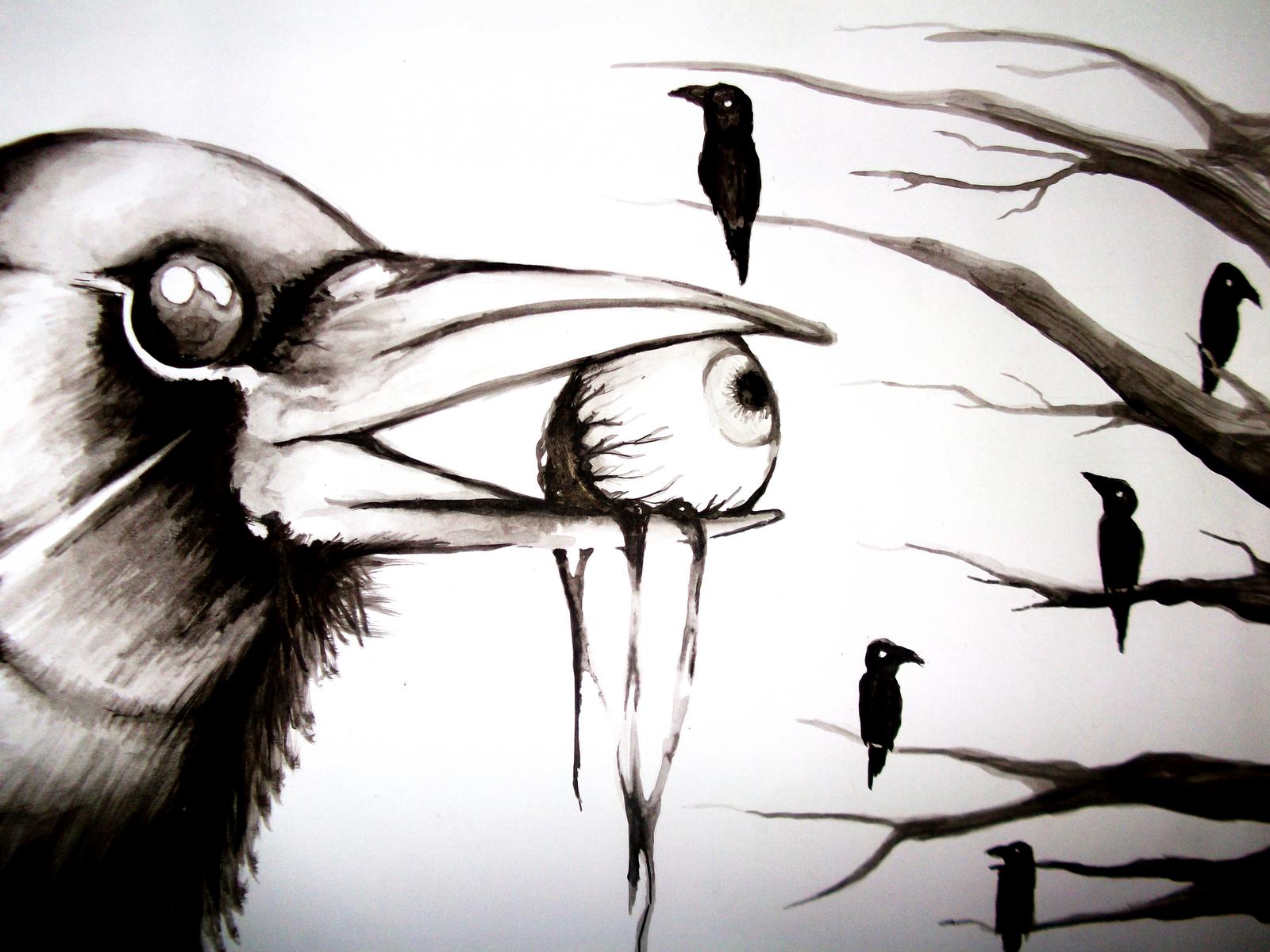 veo pixeles muertos cr a cuervos y te sacar n los ojos