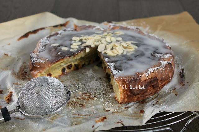 Q.b. - Quanto Basta: Torta glassata alle mandorle, senza lievito