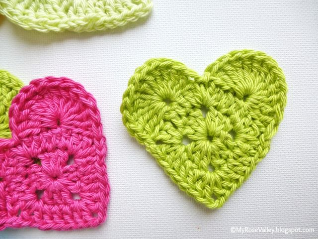 Crochet Heart : Finished. You have made your first Sweet Crochet Heart. If anything is ...