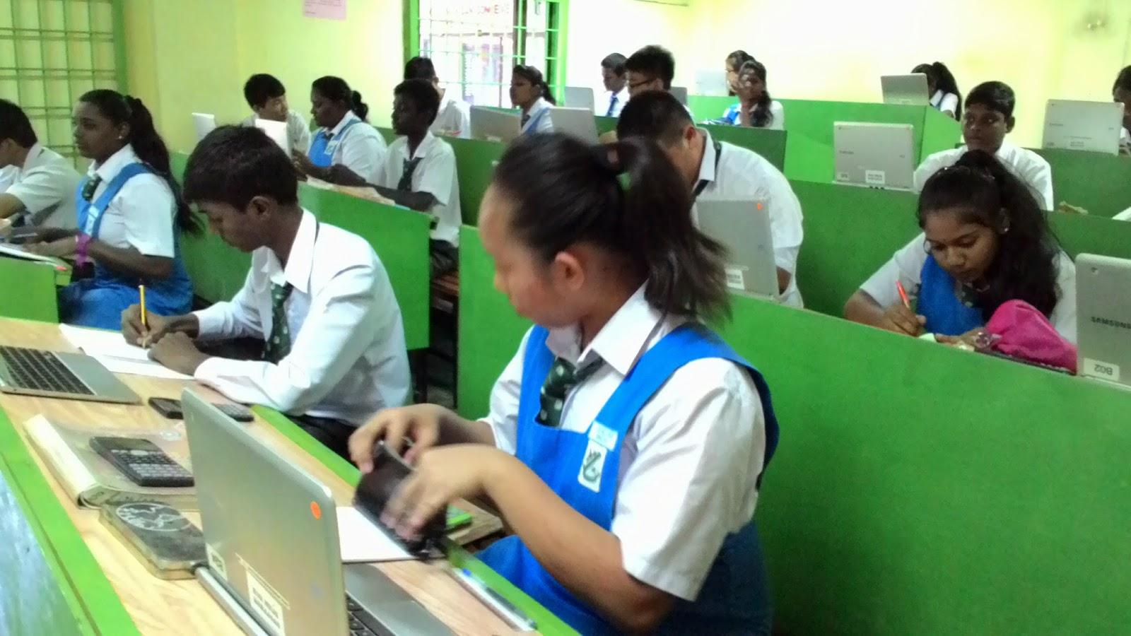 SMK St Theresa, Sungai Petani, Kedah DA: PdP Menggunakan Frog VLE