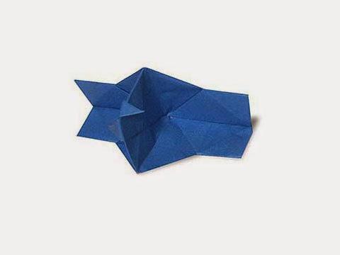 Cách gấp, xếp cái máy ảnh bằng giấy origami - Video hướng dẫn xếp hình - How to make a Camera