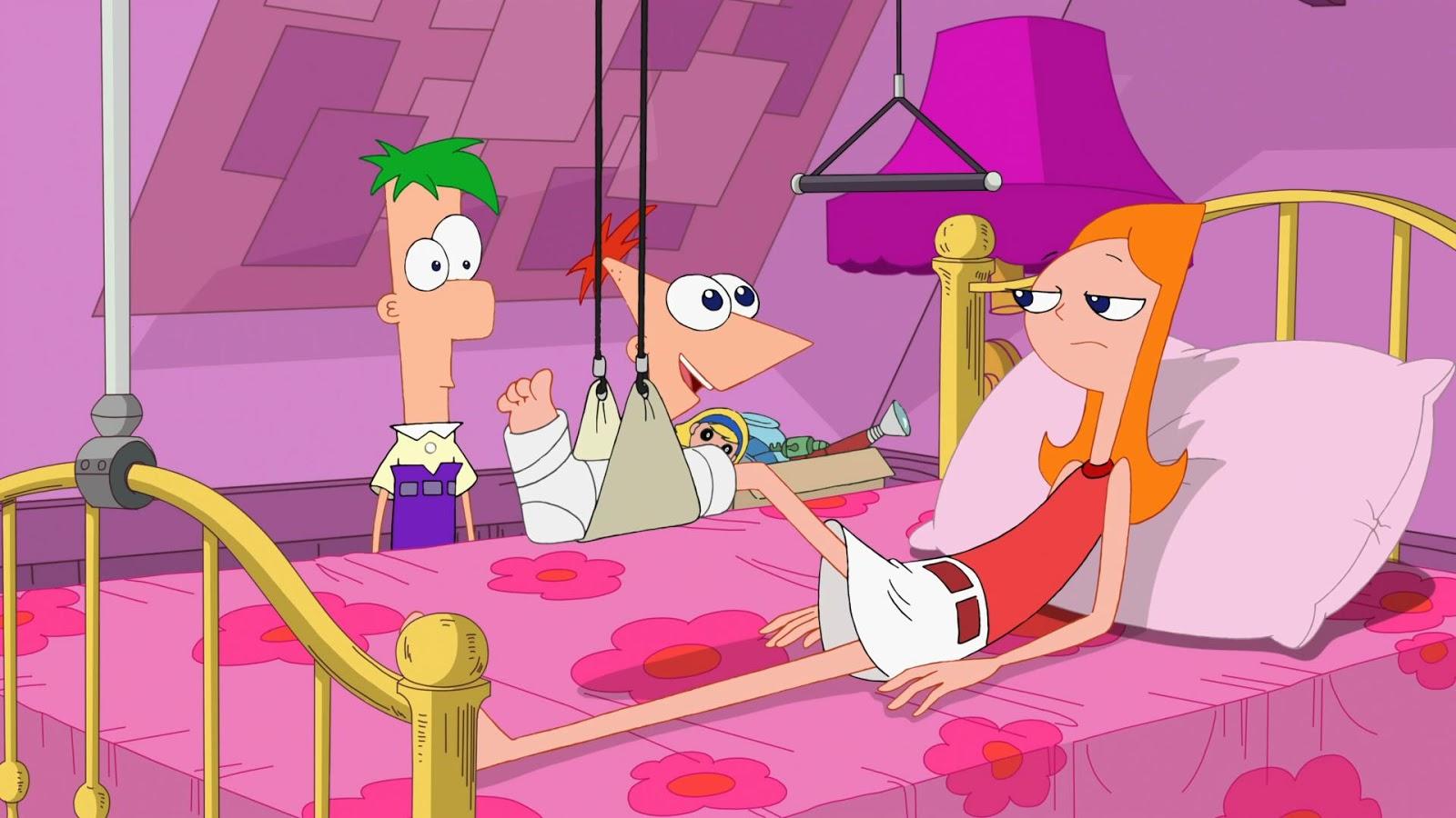 Phineas und ferb adyson nackt