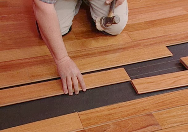 Various Types of Hardwood Flooring Installation for Office and Home