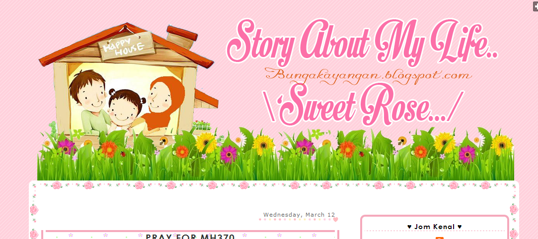 Edit Blog Sweet Rose