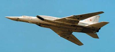 Tu-22M3E bomber