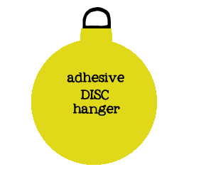 Invisible Adhesive Disc Plate Hanger  sc 1 st  Living Timorously - Blogger & Invisible Disc Plate Hangers Tutorial - Great for Hanging Plates ...