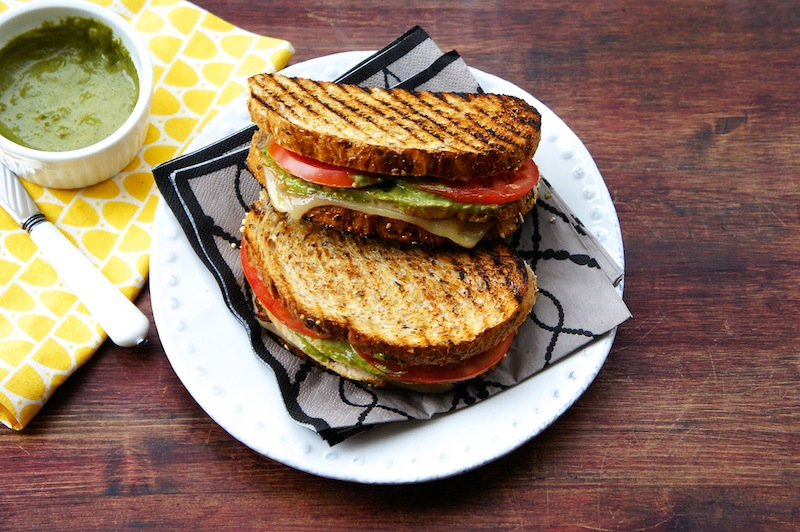 Seasaltwithfood: Grilled Turkey Sandwich With Basil Aioli