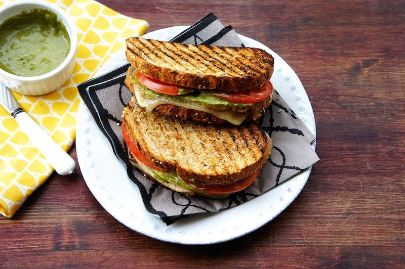 Seasaltwithfood: Grilled Turkey Sandwich With Basil Aioli