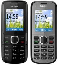 Nokia C1-01 Nokia C1-02 C-Series Mobiles