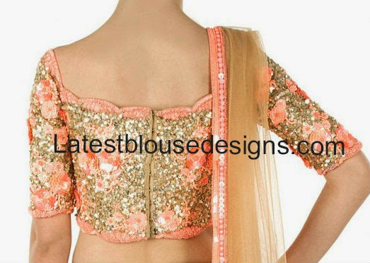 sequins blouse for sarees