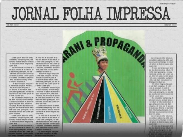 JORNAL IMPRESSO  TEM SEU PUBLICO