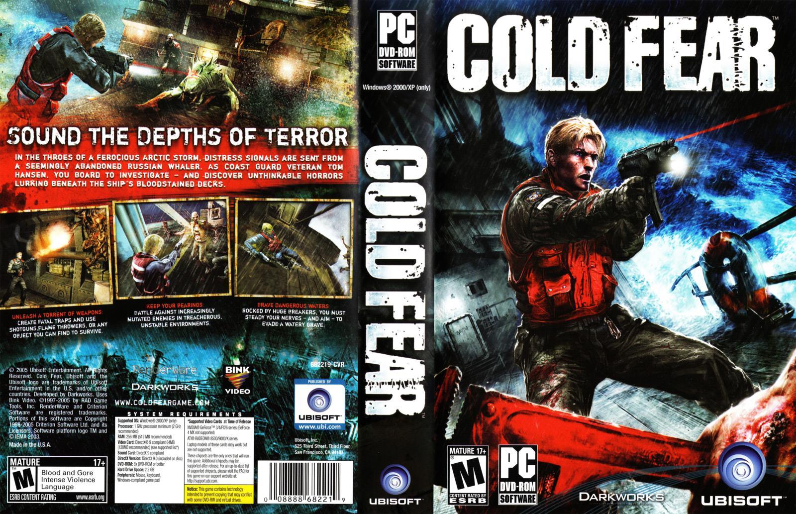 Capa cold fear pc gamecover capas customizadas para - Exclusivas fecar ...
