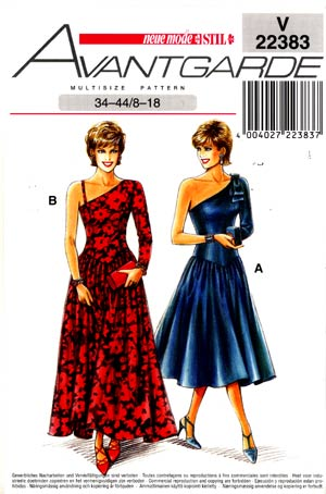 neu22383 Neue Mode Sewing Patterns