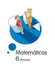 Libro digital Matemáticas 6º