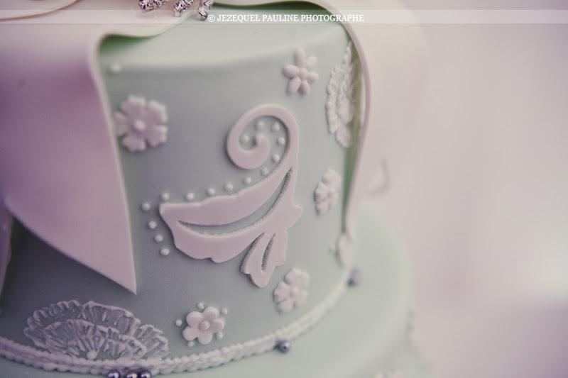 gâteau détail  décoration