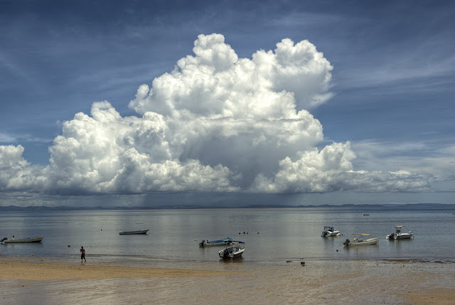 photo orage tropical, ile de nosy be, photo hdr paysage , photo fabien monteil