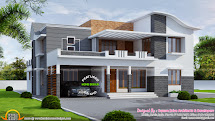 260 Square Meter Modern Villa - Kerala Home Design And