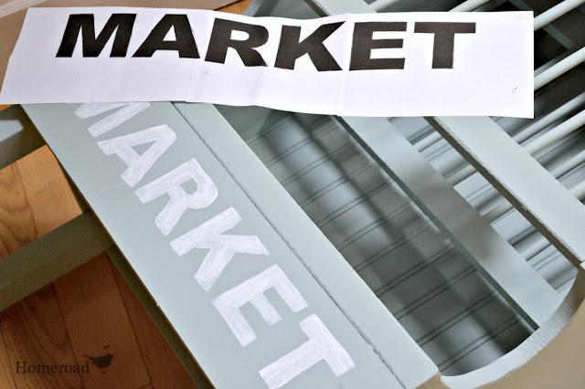 market stencil www.homeroad.net