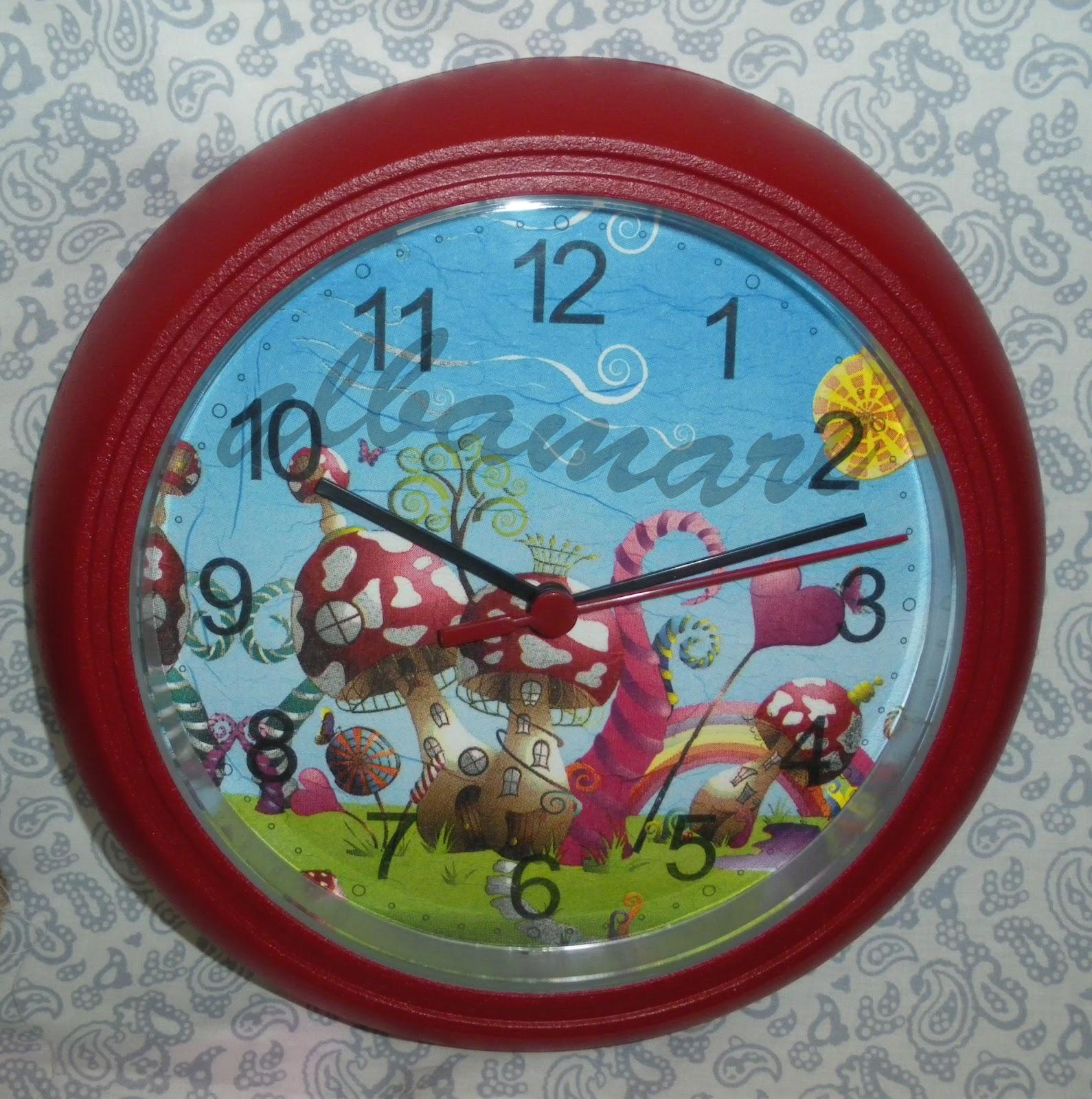 Albamare manualidades handicrafts reloj infantil infantile clock - Manualidades relojes infantiles ...