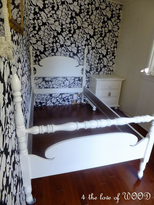 4 the love of wood fairytale bed single four poster for Fairytale beds