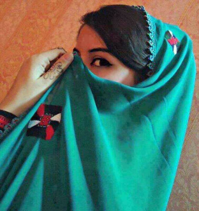 Beautiful girl eyes fb dp hide by duppatta