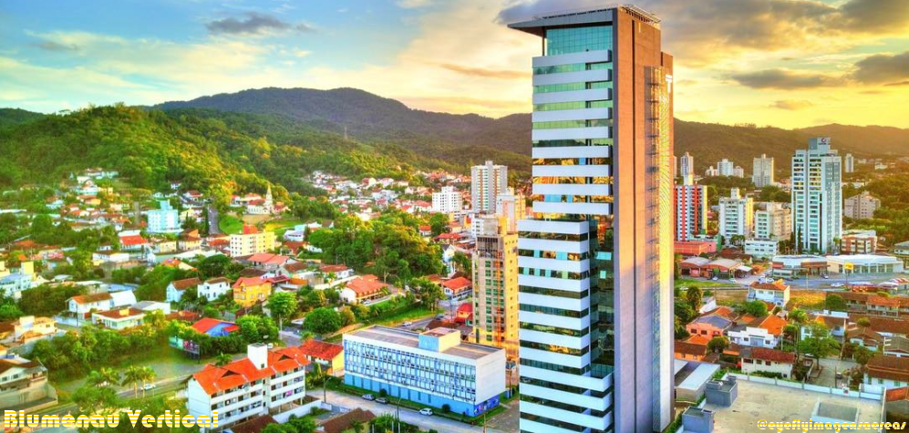 Blumenau Vertical - O site dos edifícios de Blumenau