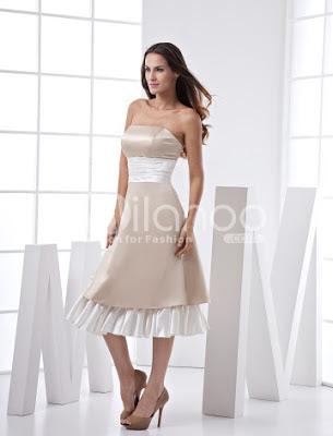 Fabuleux Sash bretelles Ruffles satin robe de bal