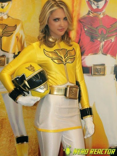 Ciara Hanna (Gia Moran) Power Rangers Megaforce