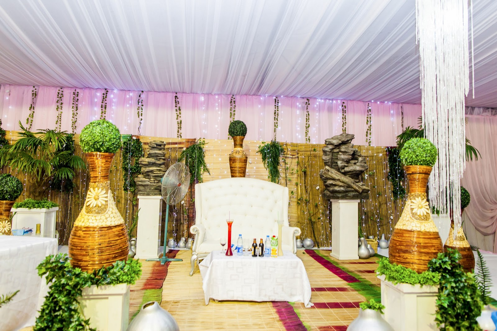 Mint and Gold Nigerian Traditional Wedding by Jide Odukoya Photography