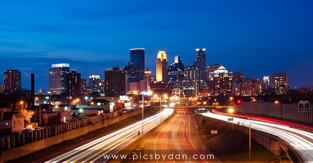 minneapolis, city, skyline,