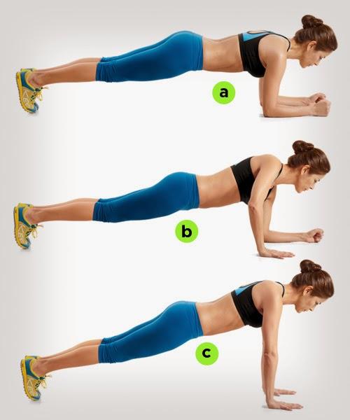 Boroi, gemuk,kempiskan perut,cara kecikkan lengan,tegangkan punggung, senaman plank, senaman atas papan sekeping