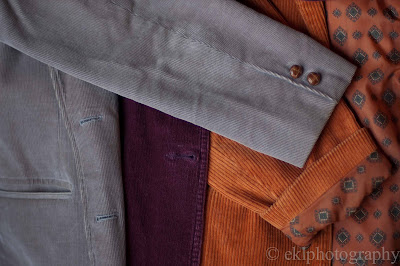 corduroy, jacket, vintage, purple, grey, orange, lining