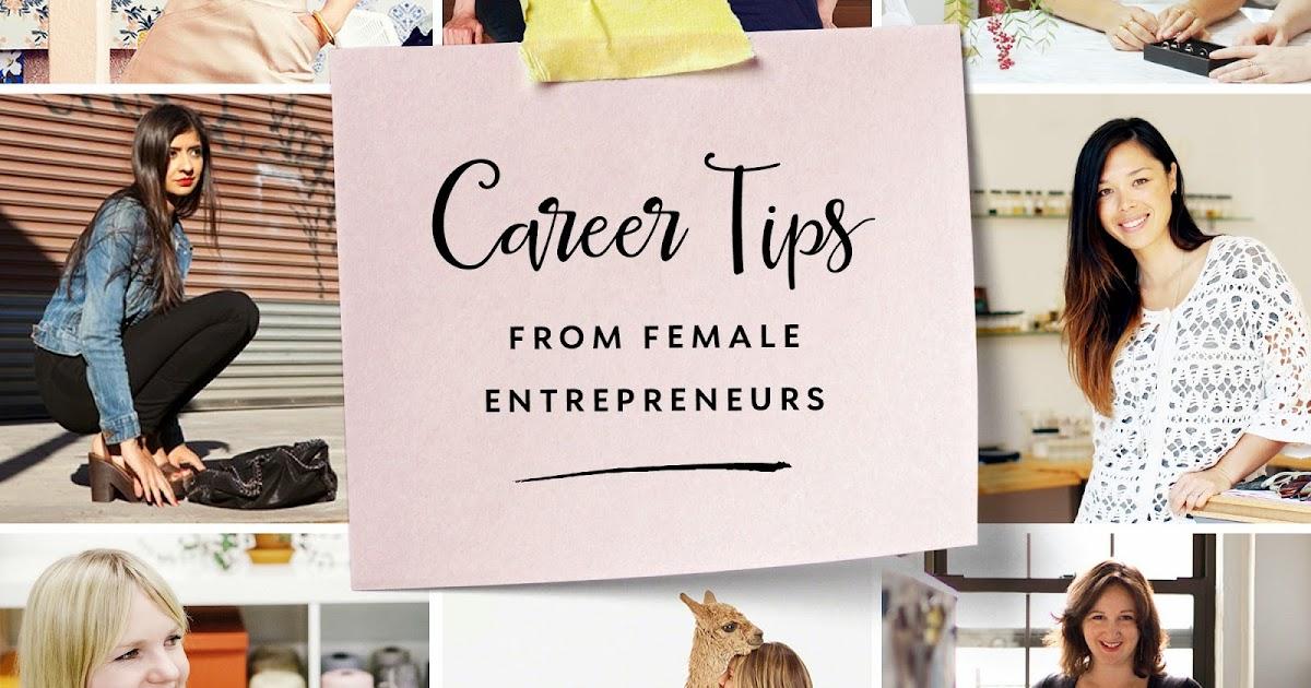 20 Career Tips From Entrepreneurs