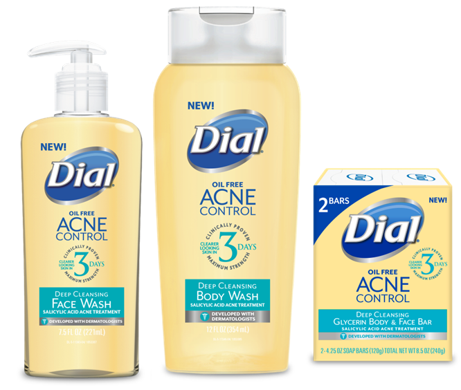 Drugstore Buy of the Week - Dial Acne Control Line