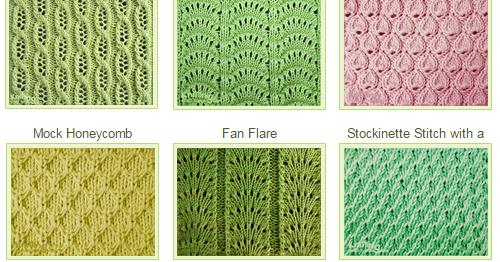 Knitting Stitch Library - Over 300 Patterns Knitting ...