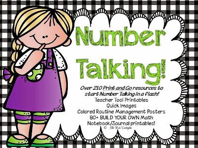 https://www.teacherspayteachers.com/Product/Number-Talking-Teacher-Resources-659681