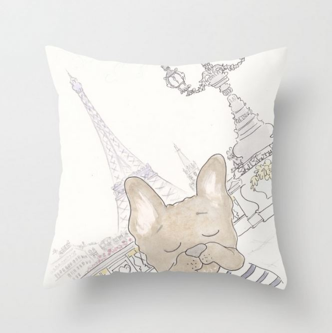 Adorable Paris & Pet Cushions