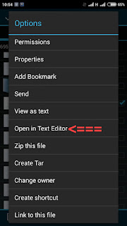 Open in text editor root explorer edit hosts play store