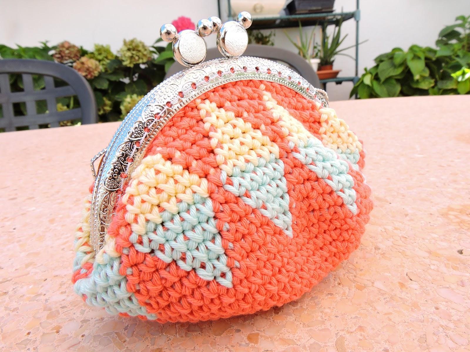 Como tejer monedero a crochet paso a paso con v deo - Manualidades a crochet paso a paso ...