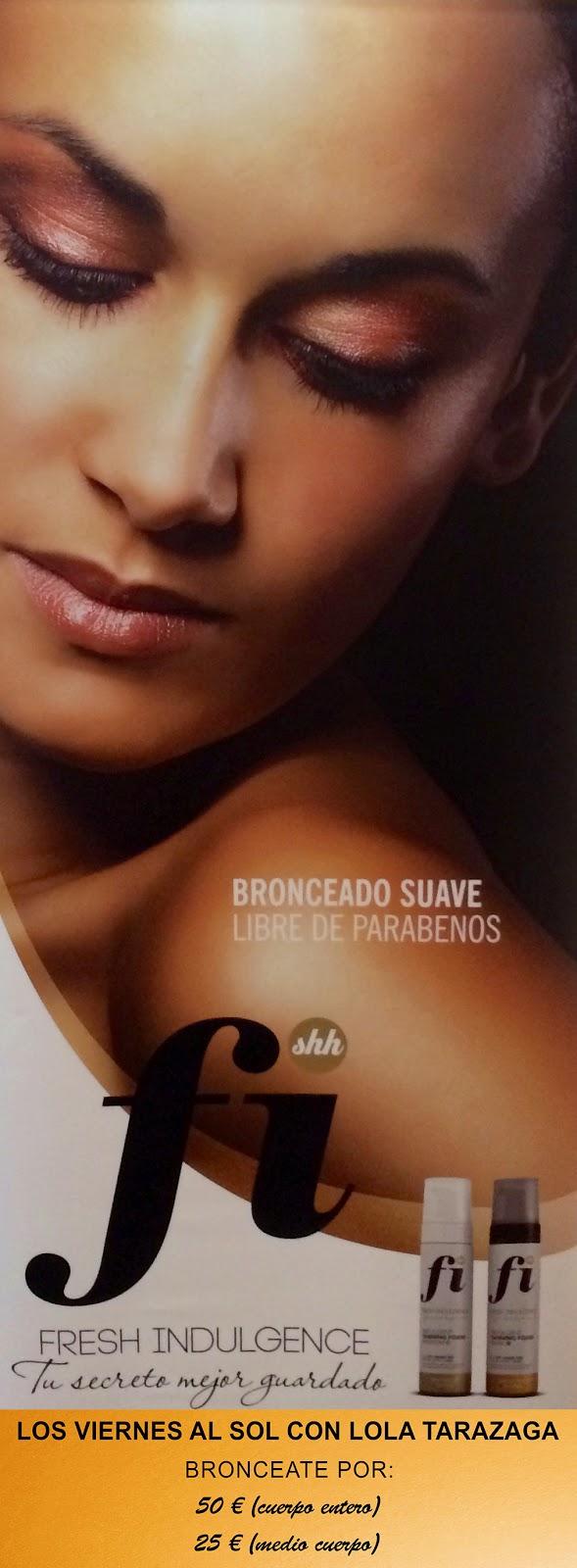 ... y el centro de belleza Velazquez 115 mi tono de piel ahora es mas #bronceadosinsol y con un tono dorado ideal. Gracias a Fernanda Palomino por invitarme - cartel%252Bpegatina%252Bfi