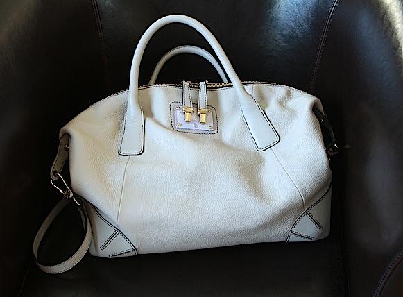 furla aurora sac beige cuir collection été 2013