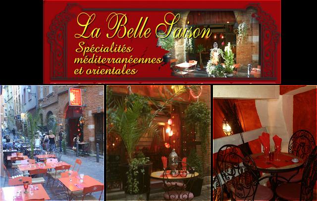 Image de Restaurant la Belle saison à Toulouse, spécialités méditerranéennes et orientales