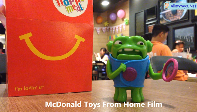 McDonald Toys From Home Film
