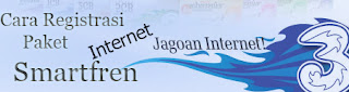 Cara register paket internet Tri