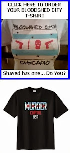 BLOODSHED CITY CHICAGO T-SHIRTS