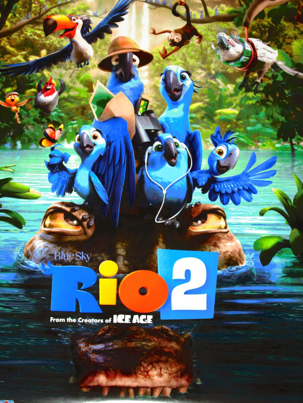 Fred said movies review of rio 2 vibrant avian entertainment review of rio 2 vibrant avian entertainment voltagebd Images